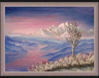 "Original Oil painting ""Morning"" by Nevena Poshtarova"