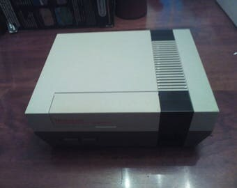 Original NES System Complete with Box, Booklets and 3 Games