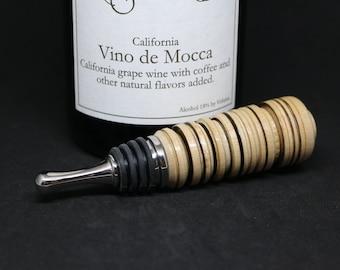 Birdseye Maple Bottle Stopper