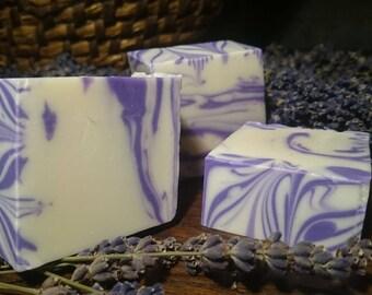 Lavender Soap handmade vegan natural