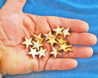 50 Birch Wood Stars for 99 Cents - Perfect For Arts and Crafts