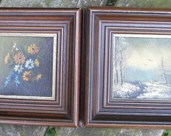 Oil paintings (2)
