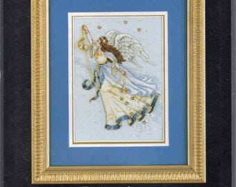 Twilight Angel Gold Collection Petites Counted Cross Stitch Kit