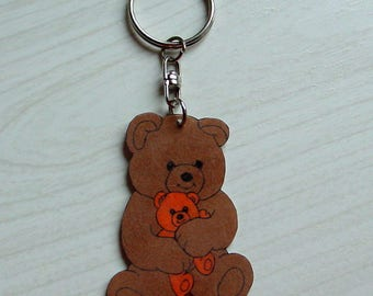 Keychain little bear Brown