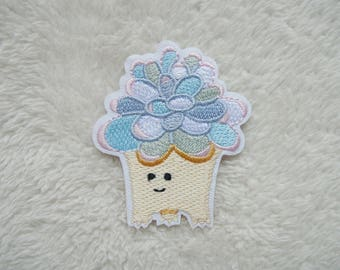 Flower Iron On Patch Embroidered Applique Patches For Jackets