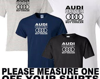 audi driver t shirt all sizes upto 5xl