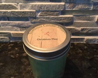 Christmas Pine 8oz Soy Candle