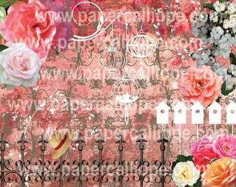 PaperCalliope - In the Garden - Gates Paper
