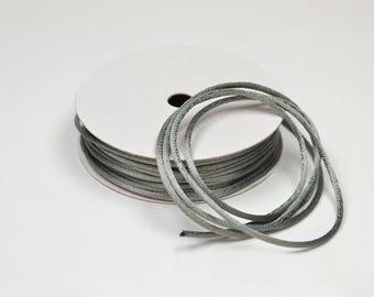 color dark gray 2 mm thick Rattail coil 10 m