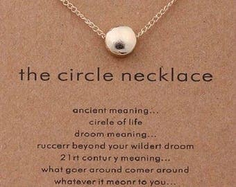 """Necklaces for women """" the circle of life """""""