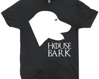 House Bark Golden Retriever Tee Shirt For Dog Lovers