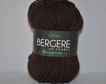 Pack of 10 balls barisienne Bergère de france 24648 246.481 brown color