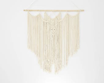 Macrame Wall Hanging| Wall Hanging Decor| Tapestry Decor|Net Like|Craft|Embroidery|