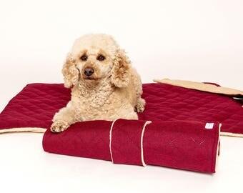 Dog blanket to go/mat/quilt/Travel
