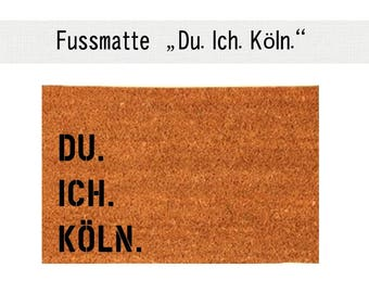 YOU. I. COLOGNE. Coco - mat carpet door mat 40 x 60 cm
