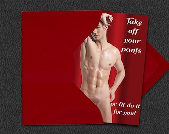 gay male painting greeting cards