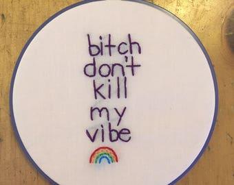 Kendrick Lamar embroidery