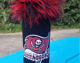 Tampa Bay Buccaneers Neoprene bottle cooler