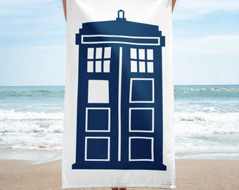 T.A.R.D.I.S Doctor Who -Towel