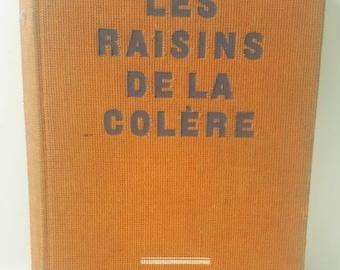 LIVRE ANTIQUE - La Raisons De La Colère Par John Steinbeck À partir de 1957. Un livre d'antiquité en français