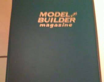 RARE 1985 Model Builder Magazine Complete Year 12 Issues Inside Official Binder