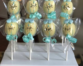Ready to Pop Themed Cake Pops