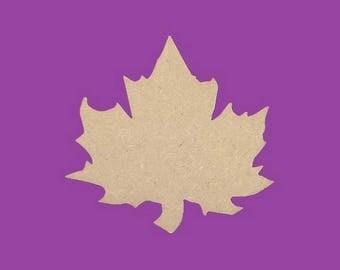 Backing has medium MDF Sycamore leaf decoration