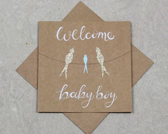 Welcome Baby Boy