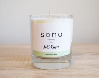Scottish Soy Glass Candle - Auld Reekie