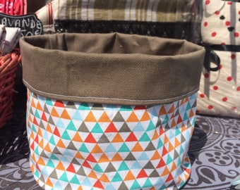 Fabric baskets, storage accessories, bathroom or bedroom or