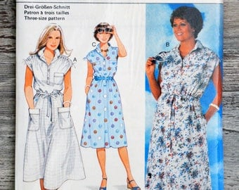 Burda 9467 sewing pattern - dress (Vintage)