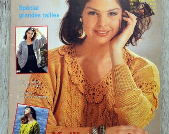 Ideal - April-May-June 1991 knitting magazine