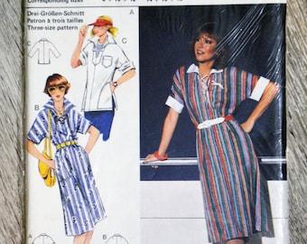 Burda 23485 - (Vintage) dress or tunic sewing pattern