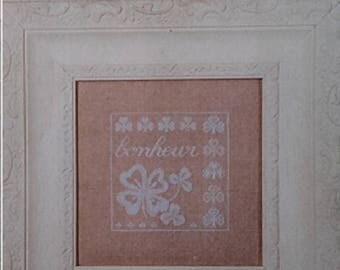 CROSS stitch Embroidery Kit - Canvas of linen Beige 12 strands - Theme in your choice