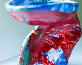 Modern Abstract Ceramic Candlesticks, Ceramic Interior Design