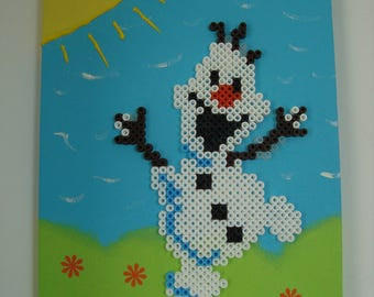 Snowman children snow in the Sun chart