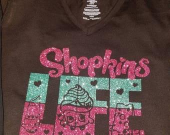 Shopkins Life Custom T-shirt for adults