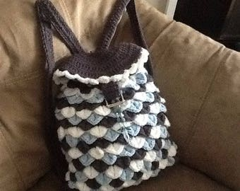 Girls/Women crochet packbag/book bag