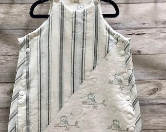 Sommeil de bébé sac-rayures & Merle-bleu