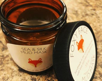 Handmade Dead Sea Mineral Mud and Silk Natural Face Mask