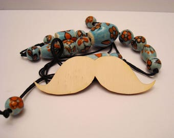 Mustache 1854 wood for your creations