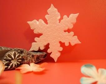 Snowflake F00016 polystyrene holiday, wedding ceremony on measures