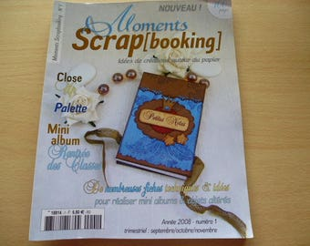 Book Moments number 1 scrapbooking ideas of decoration around the paper