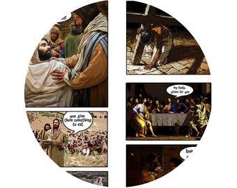 LIFE of JESUS Stole