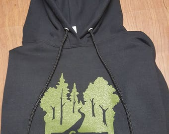 Twisted Pullover Hoodie