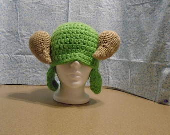 Scapegoat Hat with Ear Flaps