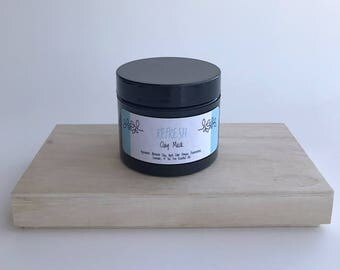 Bentonite Clay Mask, Mask, Detox, Natural Mask, Natural Skincare, Skin Detox, Non-toxic, Handmade skincare