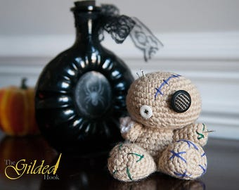 Crochet Voodoo Doll Pincushion