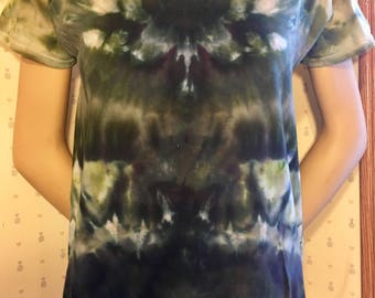 M S Ice Dye Thrifted T-Shirt