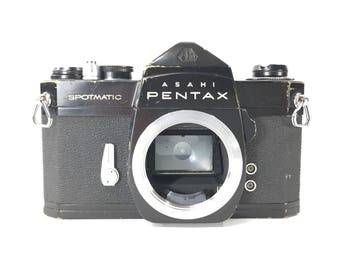 Asahi Pentax Spotmatic | 35mm SLR | Body Only  | Vintage Film Camera